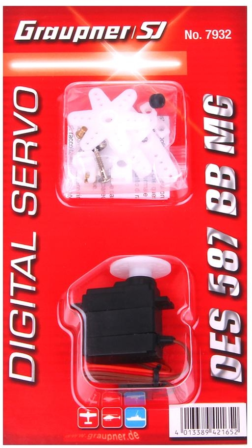 Graupner DES 587 BB MG Precision Digital Servo
