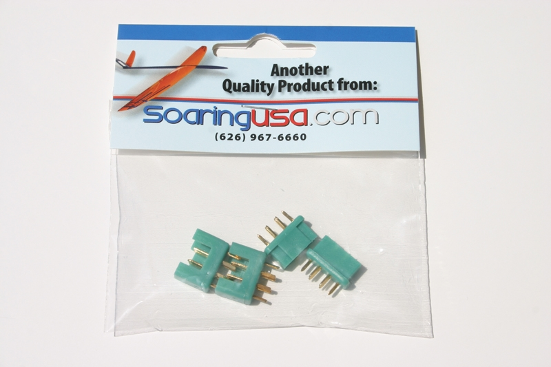 Multiplex Connector 6pin M/F (twin pack)