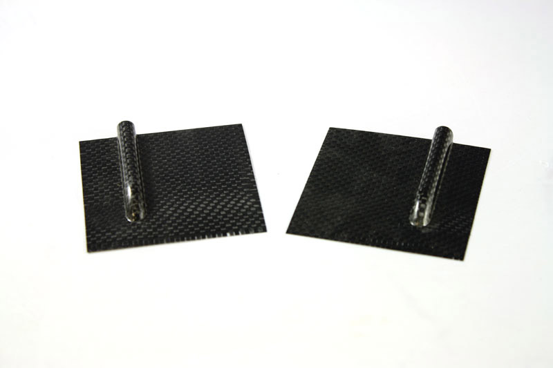 Servo Cover 70x70 - Carbon