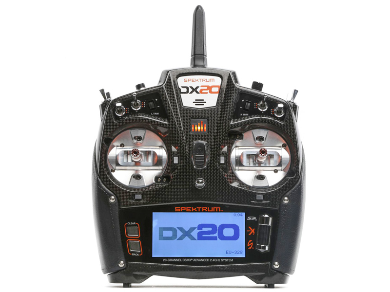 Spektrum DX20 20-Ch DSMX with AR9020