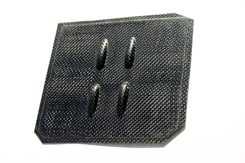Servo Cover Jelly Bean - Carbon Fiber