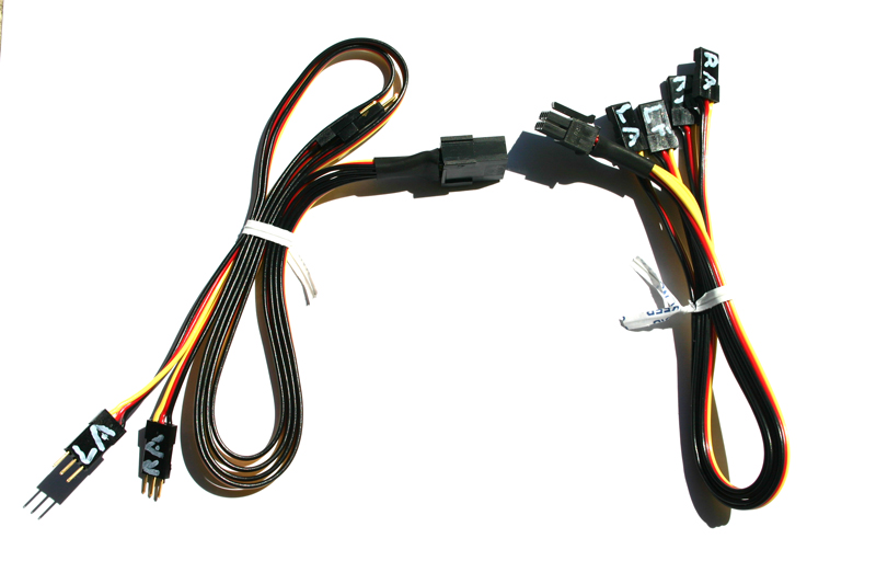 RC Harness 2M 1pc wing Opus Molex