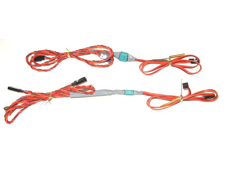 RC Harness 1.5M 2pc wing Multiplex