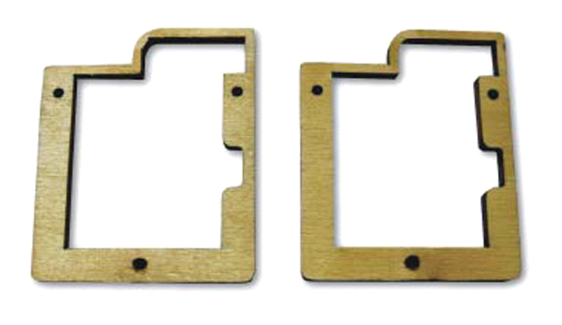 6125- Servo Frame for MKS DS6125, pair, Wood