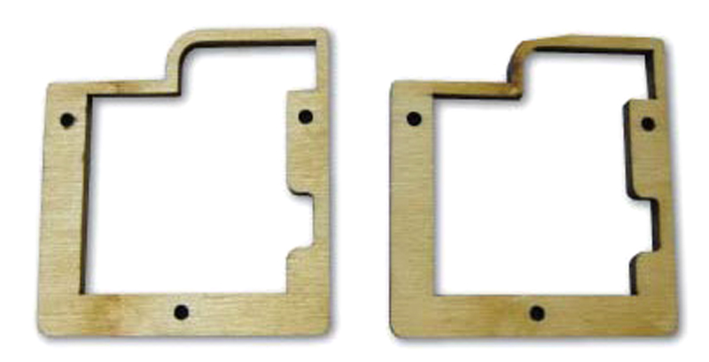 6125- Servo Frame for MKS DS6125 Mini, HBL6625M, HV6130 pr. Wood