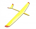 Whisper 2M Sailplane with Flaps