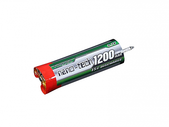 Battery RX LiPo 1200mAh 1 cell