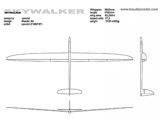 Skywalker 3.8m 2X Carbon Strong