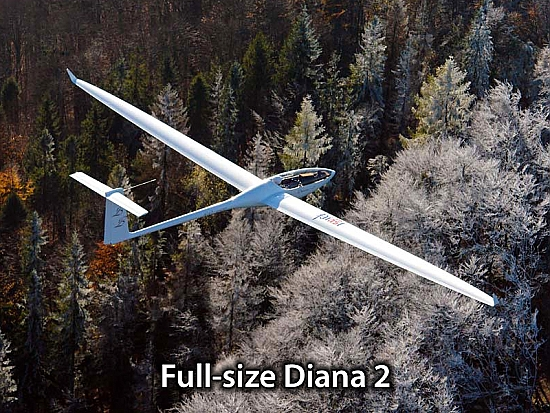 Diana 2 - 5m, STD or GPS