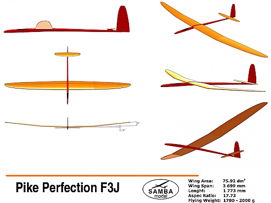 Pike Perfection F3J